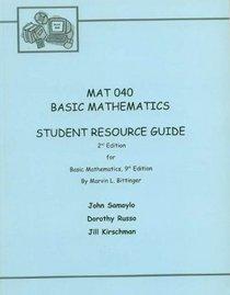 Basic College Mathematics, MAT 040, Delaware County Community College