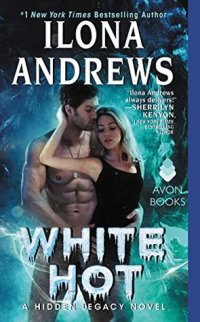 White Hot by Ilona Andrews cover