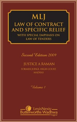 Law Of Contract And Specific Relief (With Special Emphasis On Law Of Tenders): Law of Contract and Specific Relief (Set of 2 volumes)