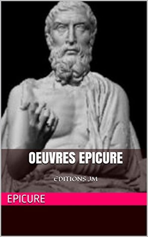 Oeuvres epicure: EDITIONS JM