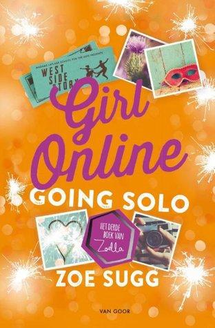 Girl Online Going Solo Boek omslag
