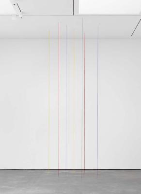Fred Sandback: Vertical Constructions