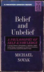 Image result for michael novak belief and unbelief