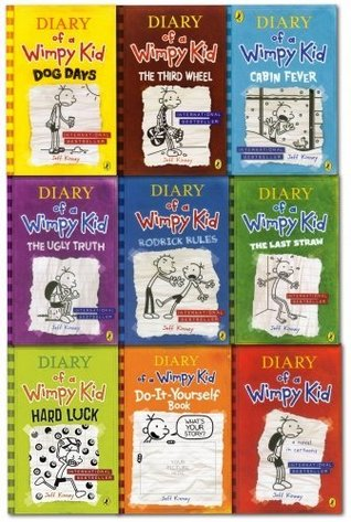 Diary of a Wimpy Kid 9 Book Slipcase