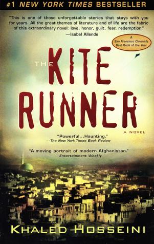 Image result for 4) The Kite Runner:: book