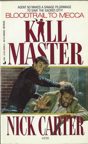 Bloodtrail to Mecca (Killmaster, #235)