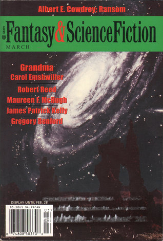 Fantasy & Science Fiction, March 2002 (The Magazine of Fantasy & Science Fiction, #604)