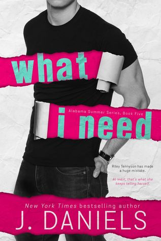Blog Tour Review:  What I Need by J. Daniels