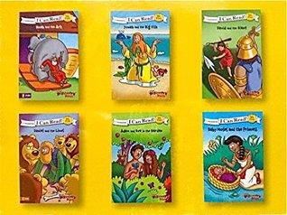 Zonderkidz I Can Read Beginner's Bible 6 Book Set