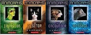 Animorphs Box Set [Books 1 - 4]: the Invasion, the Visitor, the Encounter, the Message