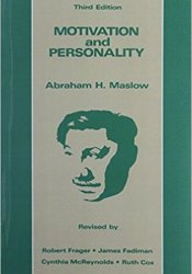 Motivation and Personality Book by Abraham H. Maslow