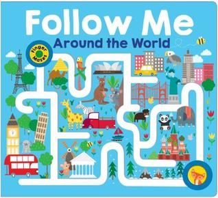 Maze Book: Follow Me Around the World