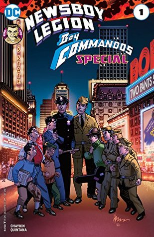 The Newsboy Legion and the Boy Commandos Special (2017-) #1 (Jack Kirby 100 (2017))