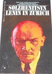 Lenin in Zürich Book by Aleksandr Solzhenitsyn