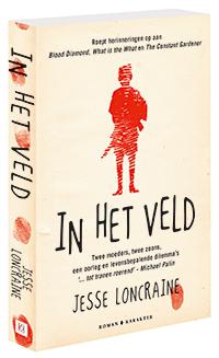 In Het Veld (EN: In The Field) Boek omslag