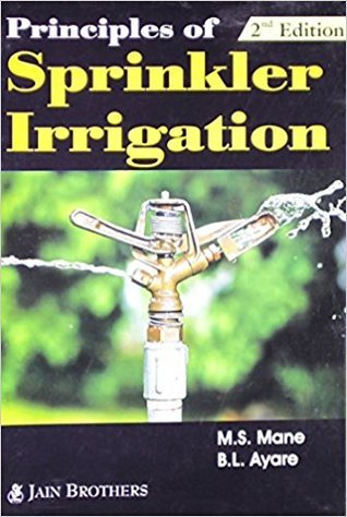 Principles Of Sprinkler Irrigation