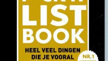 F*CK-it list book – Jacob & Haver