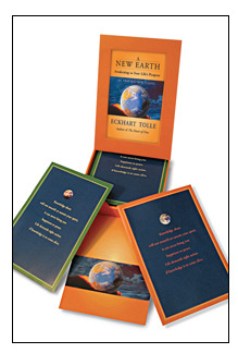 A New Earth. Awakening to Your Life's Purpose. 52 Inspiration Cards.