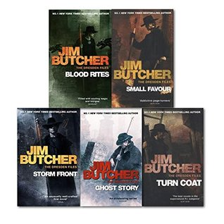 The Dresden Files Series 1 : 5 Books Collection