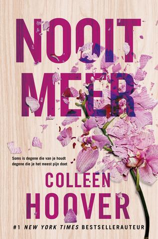 Nooit Meer (EN: It Ends With Us) Boek omslag