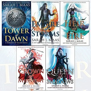 Throne of Glass Series Collection (Throne of Glass #2-6)