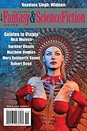 The Magazine of Fantasy & Science Fiction, January/February 2018 (The Magazine of Fantasy & Science Fiction, #735)
