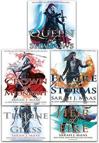 Throne of Glass Series Collection (Throne of Glass #1-5)