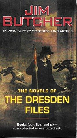 Dresden Files Boxed Set Books 4 Thru 6