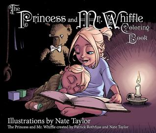 The Princess and Mr Whiffle Coloring Book