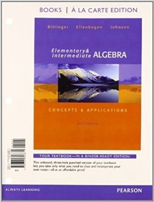 Elementary and Intermediate Algebra: Concepts and Applications [with MyMathLab Access Code]