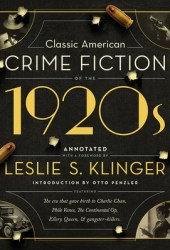 Classic American Crime Fiction of the 1920s Book