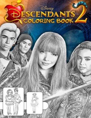 Descendants 2 Coloring Book: Great Book for Teens and Kids