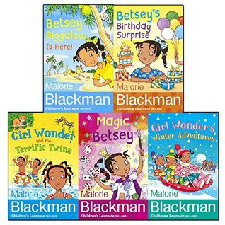 Malorie Blackman Collection Betsey Biggalow 5 Books Set