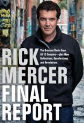 Rick Mercer Final Report Book