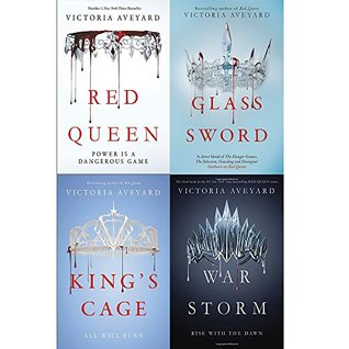 Victoria aveyard red queen series 4 books collection set