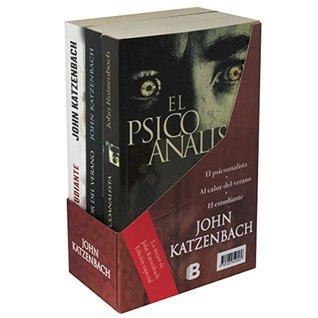 Paquete John Katzenbach: El psicoanalista, / Al calor del verano / El estudiante