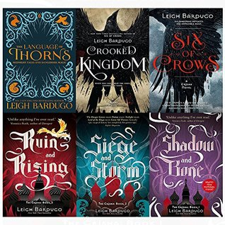 Grisha and six of crows series leigh bardugo 6 books collection set