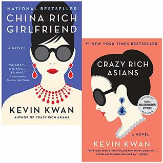 Crazy Rich Asians And China Rich Girlfriend 2 Books Collection Set By Kevin Kwan