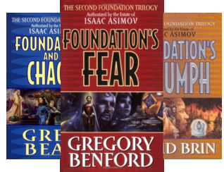 Second Foundation Trilogy Series (3 Book Series)