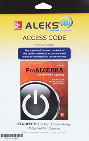Aleks 360 Access Card 11 Weeks for Prealgebra with P.O.W.E.R. Learning
