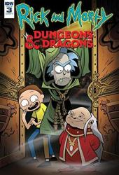 Rick and Morty vs. Dungeons & Dragons #3 (of 4) Book