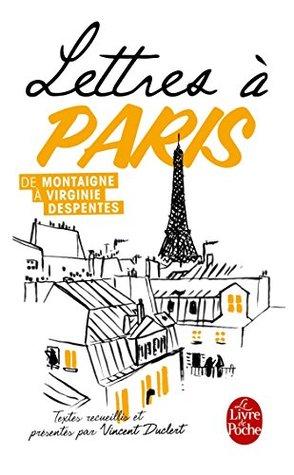 Lettres a Paris