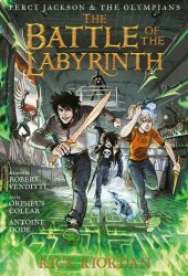 The Battle of the Labyrinth: The Graphic Novel (Percy Jackson and the Olympians, #4) Book