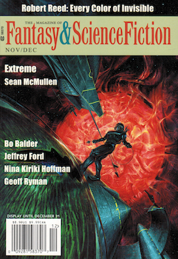 The Magazine of Fantasy & Science Fiction, November/December 2018