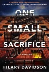 One Small Sacrifice (Shadows of New York, #1) Book