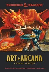 Dungeons and Dragons Art and Arcana: A Visual History Book