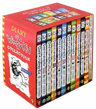 Diary of a Wimpy Kid 12 Books Complete Collection Set New(Diary Of a Wimpy Kid,Rodrick Rules,The Last Straw,Dog Days,The Ugly Truth,Cabin Fever,The Third Wheel,Hard Luck,The Long Haul,Old School..etc