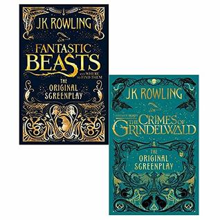 Fantastic beasts and where to find them, crimes of grindelwald [hardcover] 2 books collection set
