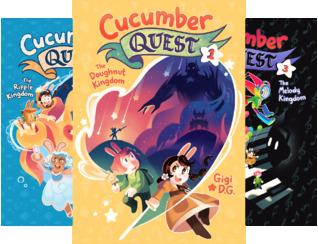 Cucumber Quest (4 Book Series)