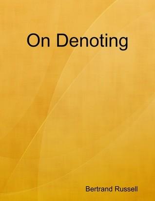 On Denoting